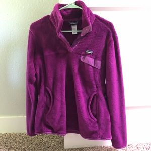 Patagonia quarter snap fleece pull over